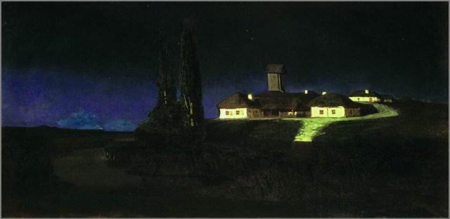 Украинская ночь картина