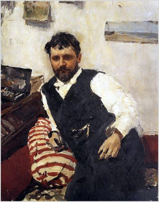 Портрет Коровина