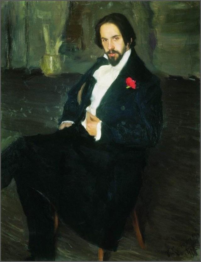 Портрет Билибина