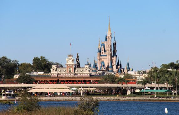 Fachada magic kingdom