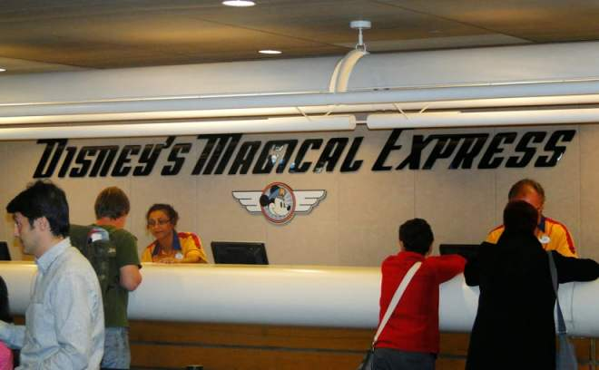 transporte da Disney