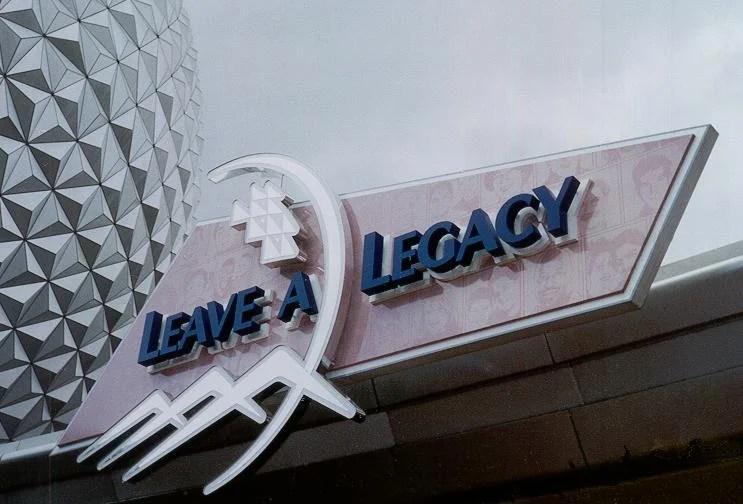 Leave a Legacy: Nosso legado deixado na Disney