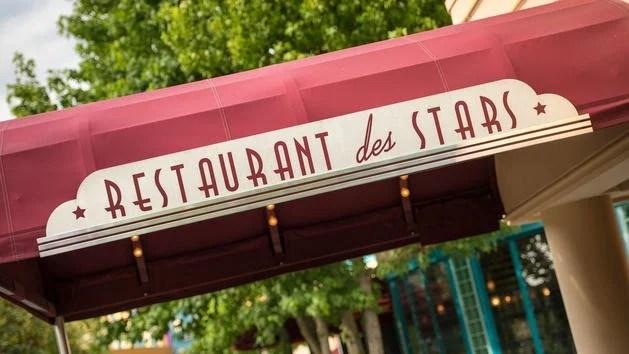 Restaurant des Stars na Disneyland Paris