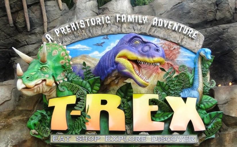 T Rex Orlando: Um jantar na era jurássica em Disney Springs (antigo Downtown Disney)