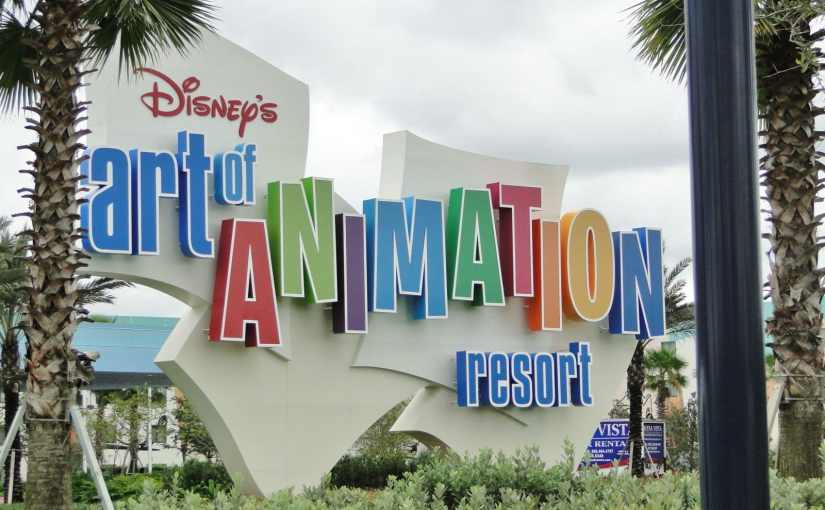 Art of Animation: O hotel mais colorido da Disney