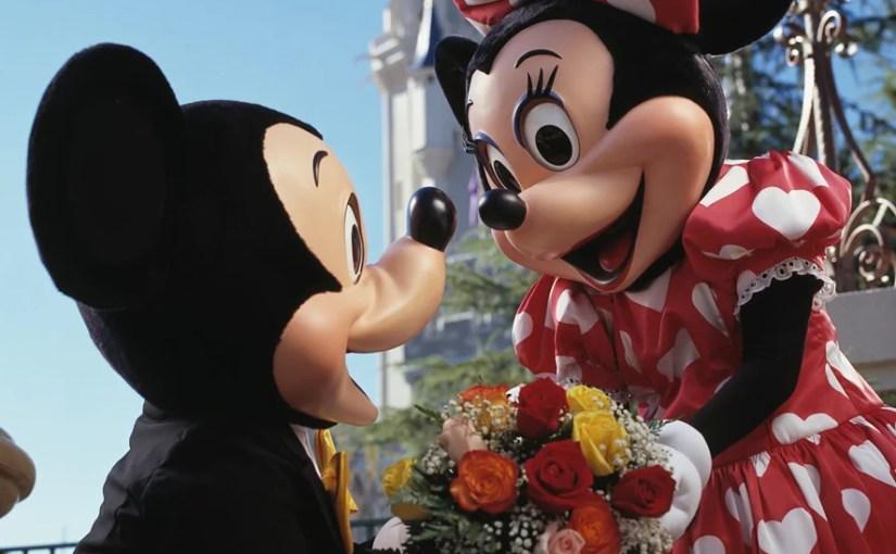Opções românticas para os casais na Disney