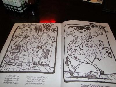 Hard Rock cafe menu infantil