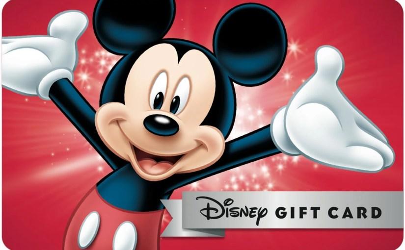 Disney Gift card: Cartão para presentear ou controlar os gastos na Disney