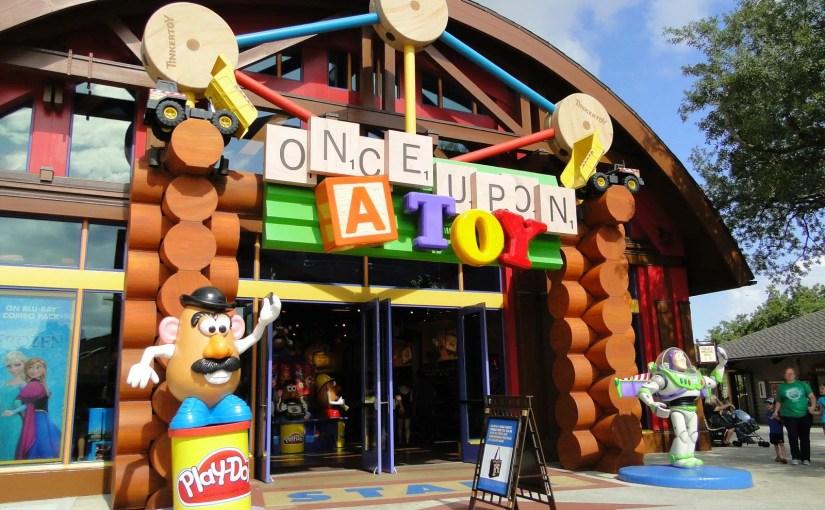 Once Upon a Toy: A loja exclusivamente de brinquedos em Disney Springs (antigo Downtown Disney)