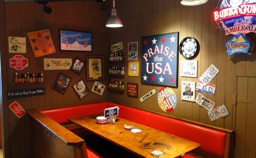 Bubba Gump – O restaurante do Forrest Gump