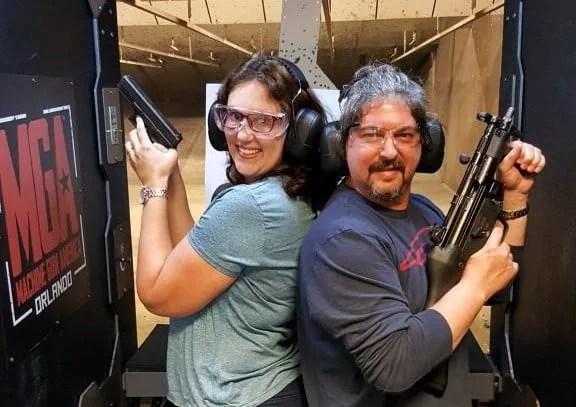 Machine Gun America – Curso de tiro em Orlando