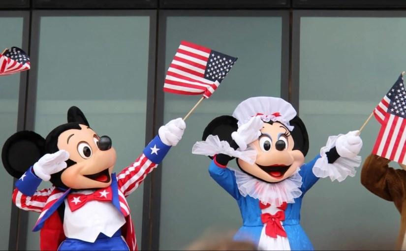Como é o 4 de julho nos navios Disney