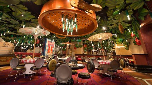 Chez Remy – O restaurante do Ratatouille na Disneyland Paris