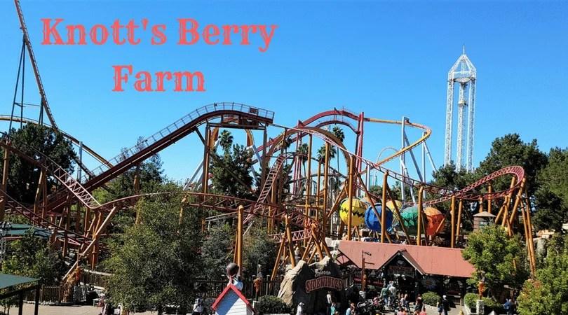 Knott's Berry Farm – O parque do Snoopy na Califórnia