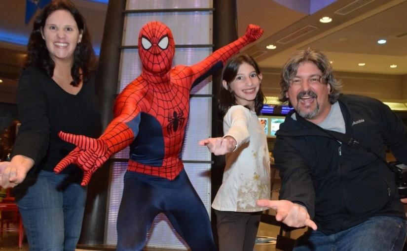 Jantar com super heróis da Marvel na Universal