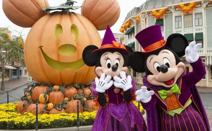 Festa de Halloween na Disneyland California