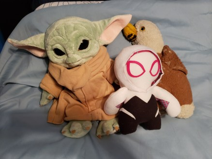 A TINY handful of my favorite stuffed animals