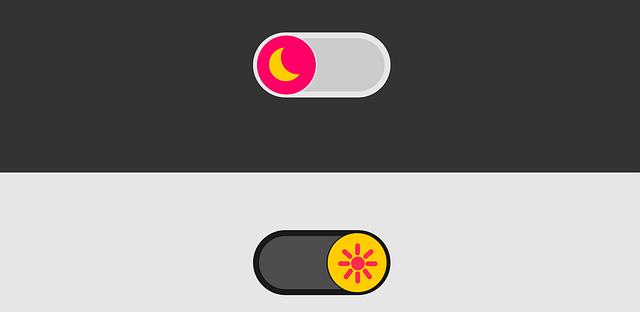 Dark mode switch