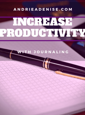 How to Journal for Productivity