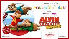 Alvin i veverice: Velika avantura (2015) online besplatno sinhronizovani crtani za djecu!