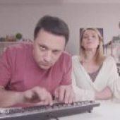 Andrija i Anđelka - BTS: Virtuoz na tastaturi (glupiranje na setu)