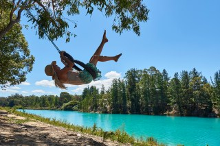 Australia's South West, Black Diamond Lake