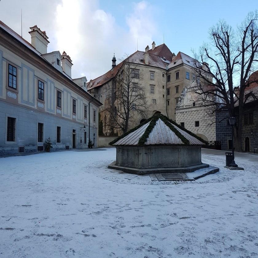 зима Чески Крумлов Новый год Чехия (1)