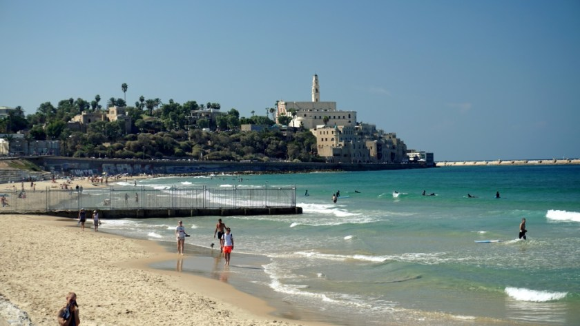 Old Jaffa Israel Sea View