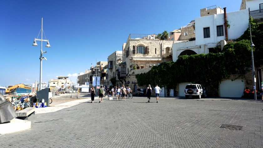 Walking day in Old Jaffa Israel (1)