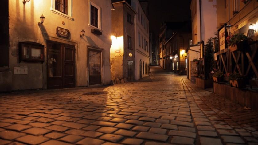 Крумлов ночью (1)