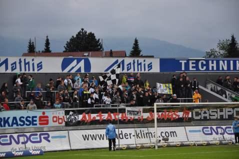 Die Fans des SCR Altach.