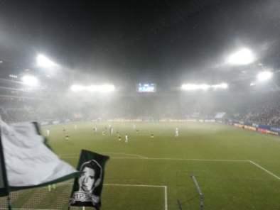Der Nebel erschwerte das Ganze