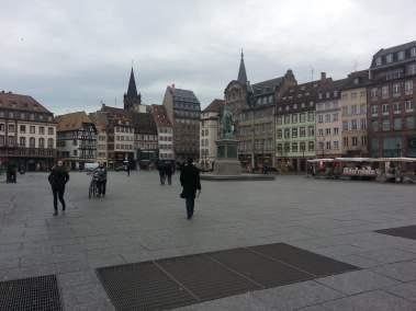 Der Kléberplatz im Herzen von Strasbourg