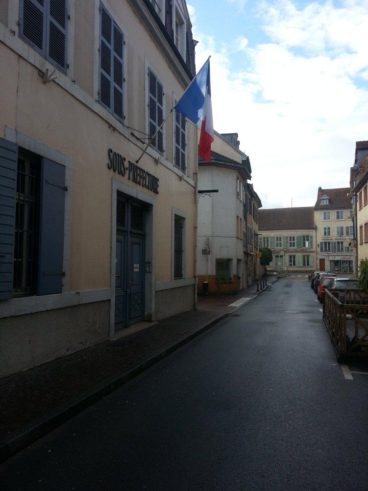 Strassen von Montbéliard