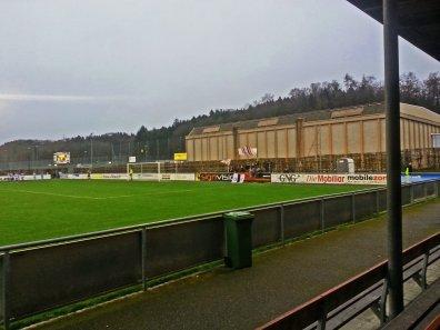 Mitgereiste Anhänger des FC Baden