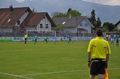 Penalty zum zwischenzeitlichen 1:1