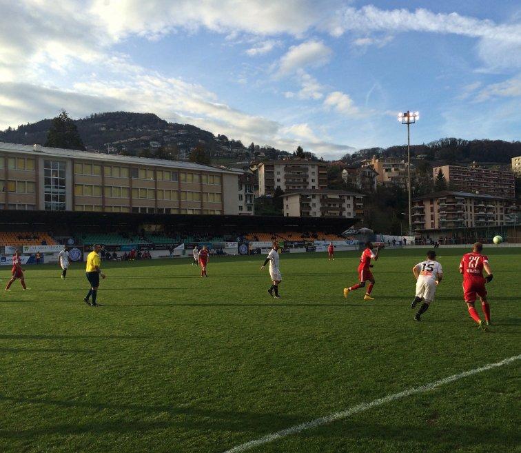 Fussballwetter am Genfer See