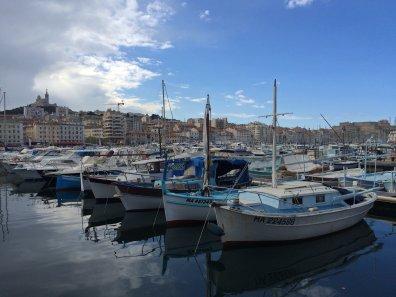 Der alte Hafen in Marseille