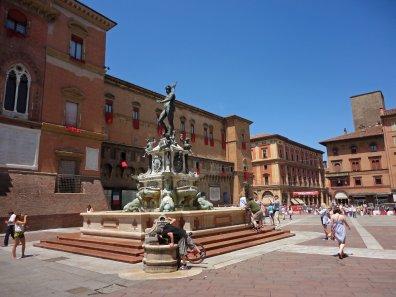 Neptunbrunnen auf dem Piazza Magiore