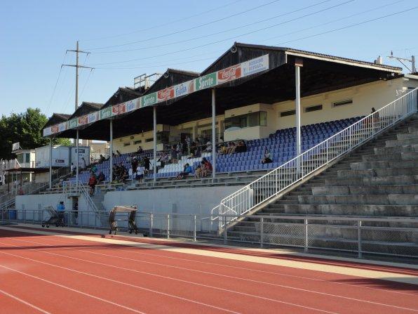 Das Stade Saint-Léonard in Fribourg
