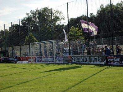 Mitgereiste Fans aus Klagenfurt