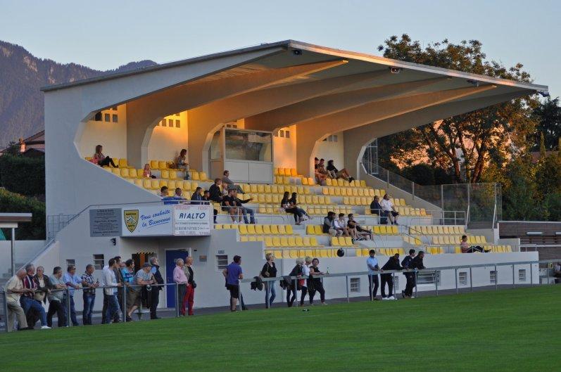 Das Stade de Chailly in Montreux