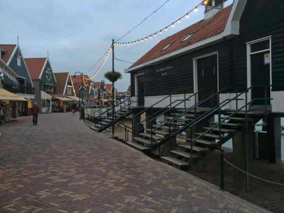 Malerisches Stadtzentrum von Volendam