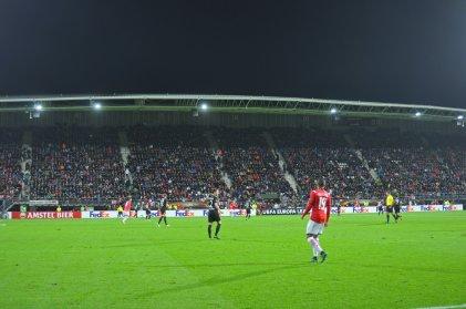 Europa League im AFAS Stadion zu Alkmaar