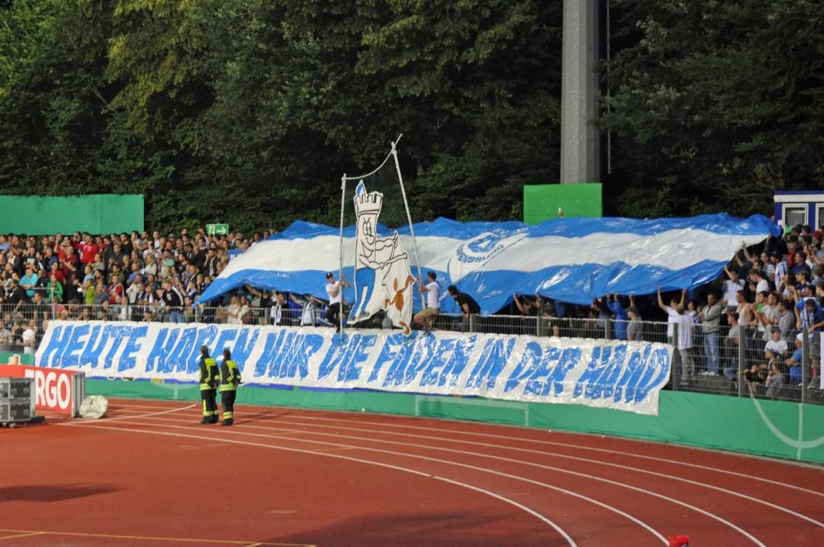 Intro der Ravensburger Anhängerschaft