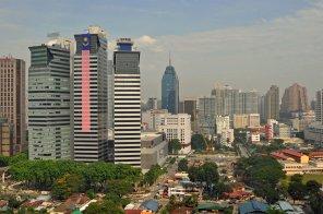 Kuala Lumpur bei schönem Tageswetter