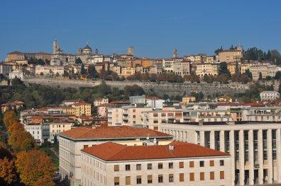 Blick auf die erhöht gelegene Altstadt