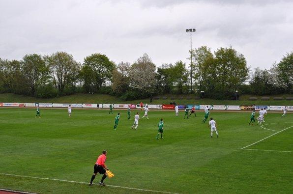 Regionalligafussball im Münchner Vorort
