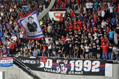 Die Meute an Videoton-Fans