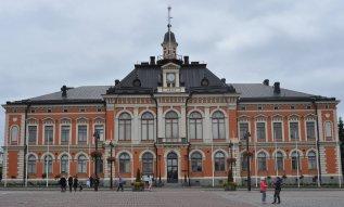 Das Rathaus in der Altstadt von Kuopio